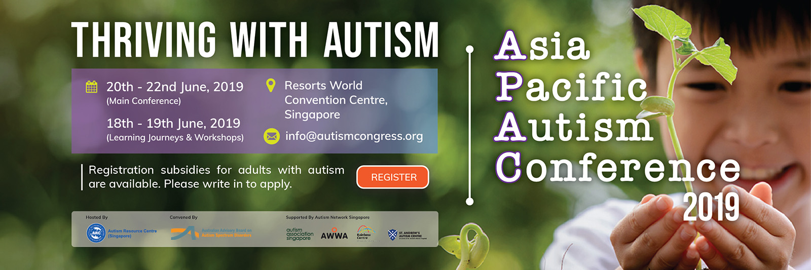 Register for APAC19